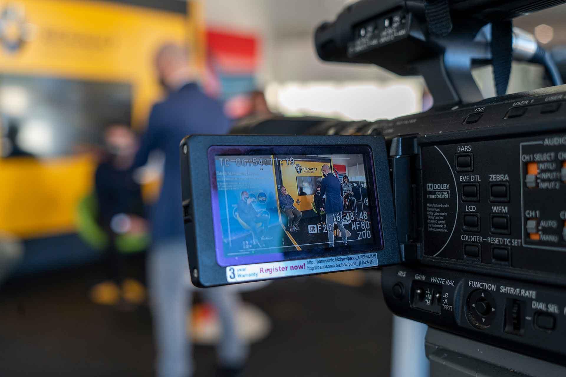 Backstage Evento Renault per Medecar