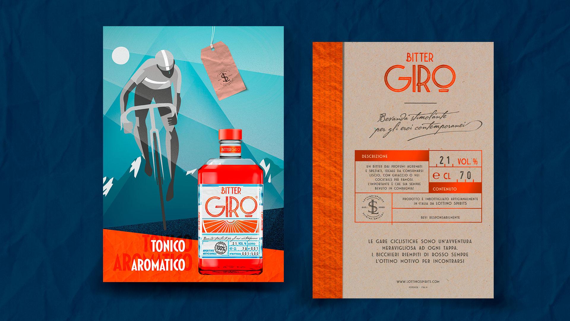 Flyer prodotto Bitter Giro