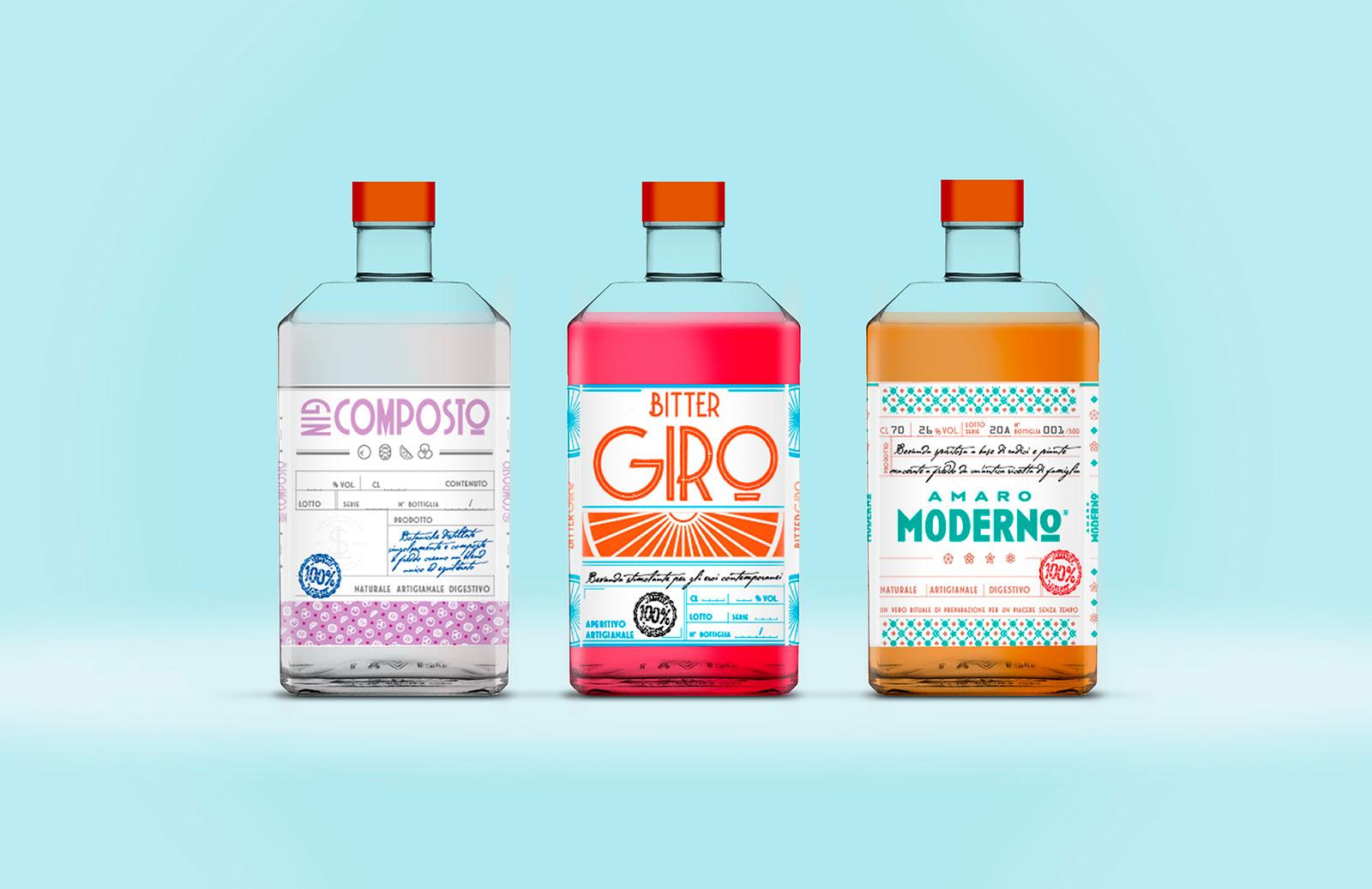 Etichette Prodotti Lottino Spirits